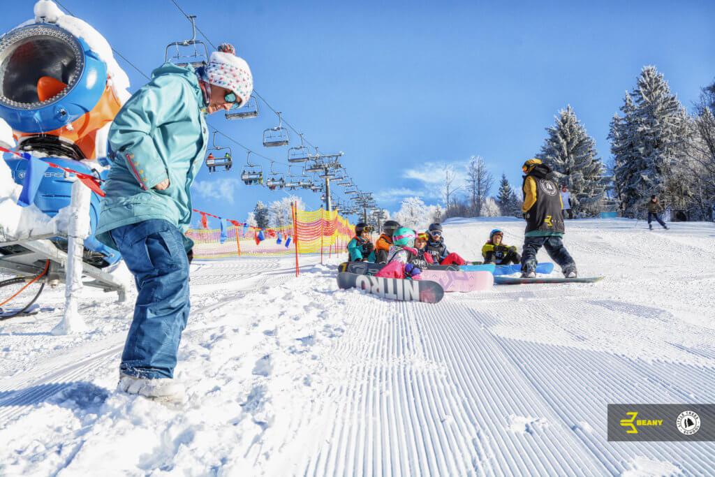 Odpočinek na Beany Snowboard Campu