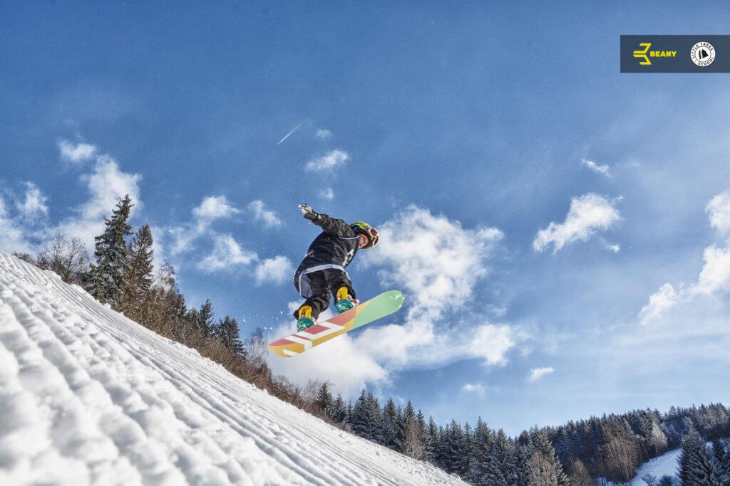 Ollie Benecko snowboardová škola