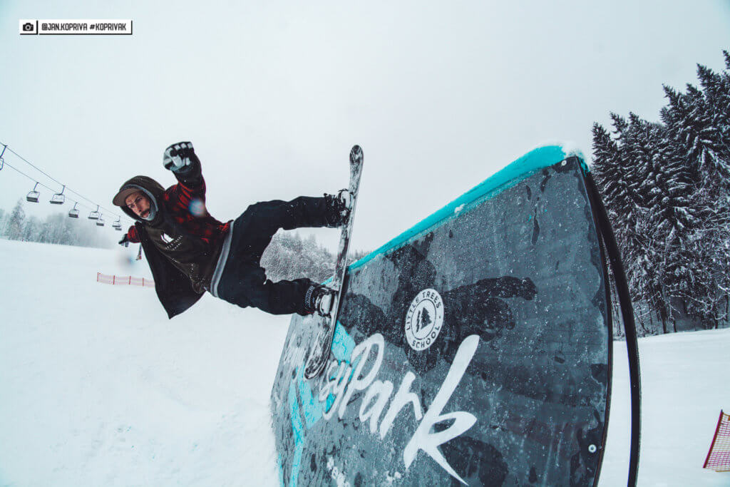 Wallride Easy Snowpark Benecko