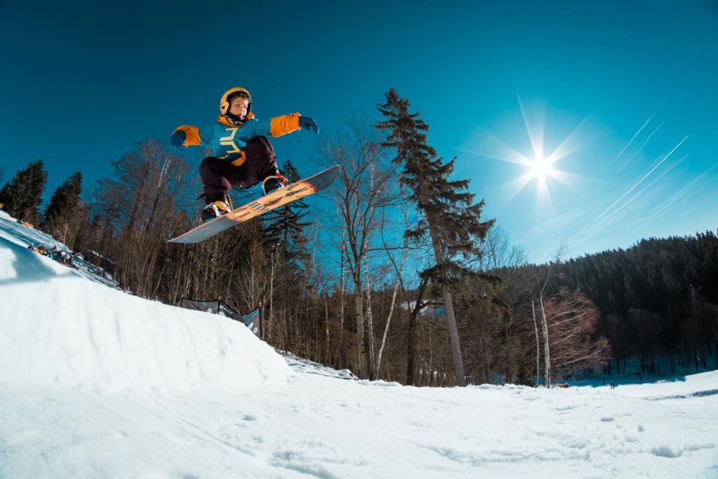 Ollie jump