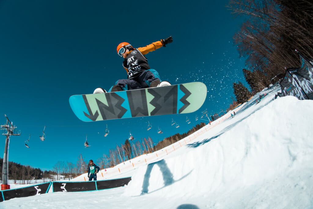 Ollie Easy Snowpark Benecko