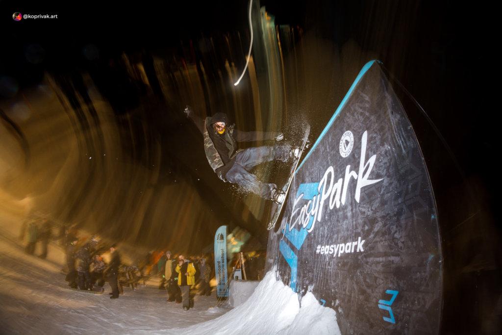 Wallride snowboard
